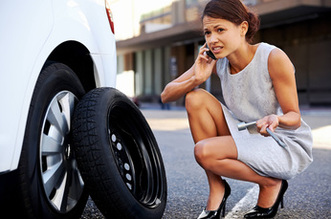 Atlanta Towing Services flat tire